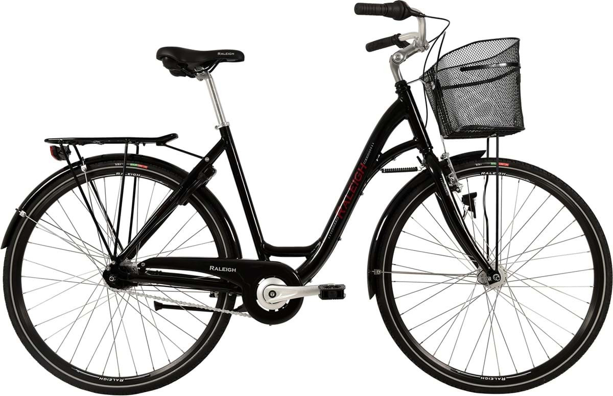 Image of Raleigh Shopping Alu Dame 7 Gear Blank Sort 52cm - 2019