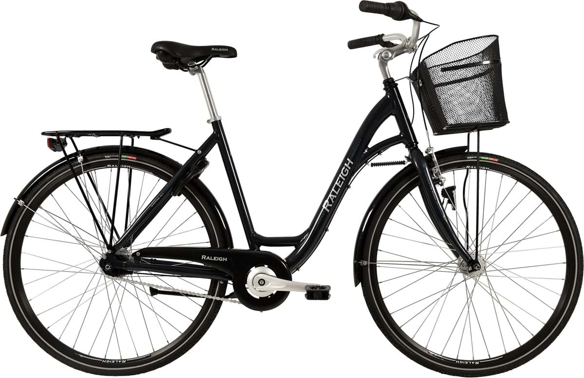 Image of Raleigh Shopping Alu Dame 7 Gear Fodbremse Blank Grå - 2019