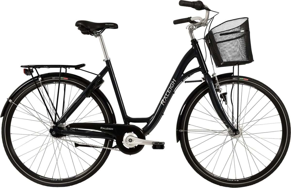 Raleigh Shopping Alu Dame 7 Gear Fodbremse Blank Grå - 2019 Mærker