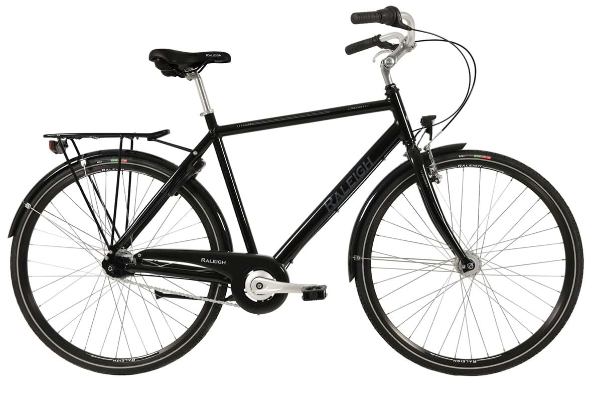 Image of Raleigh Shopping Alu Herre 7 Gear Fodbremse Sort - 2019
