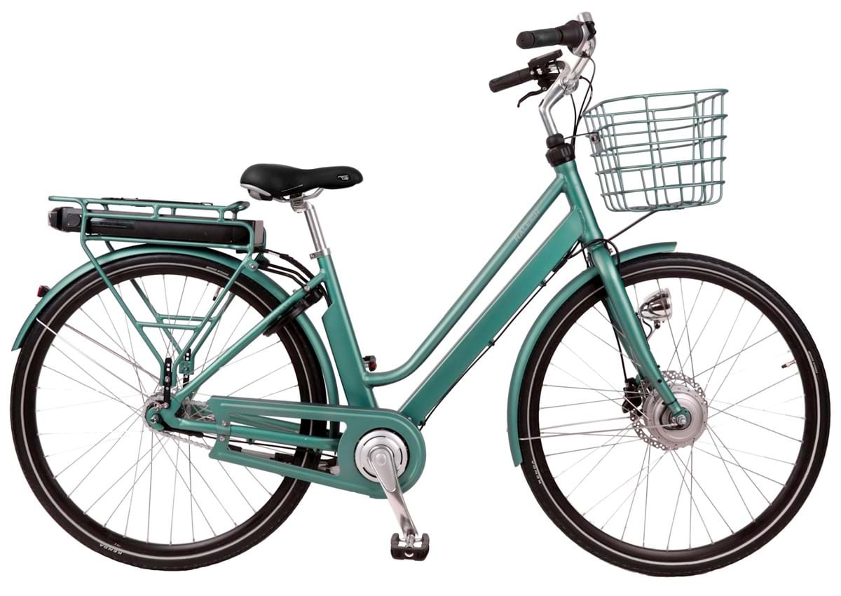 Image of Raleigh Sussex E1 Elcykel Dame Turkis - 2020