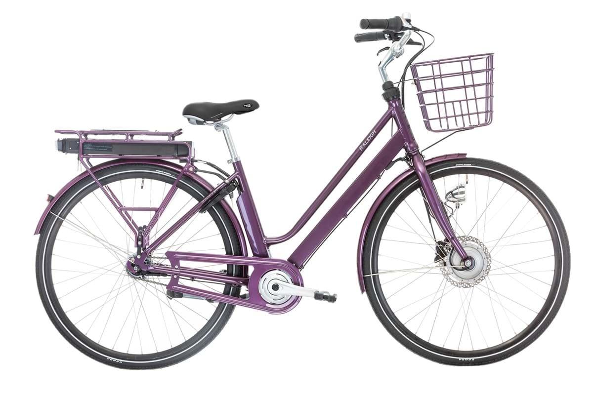 Pedalatleten Raleigh Sussex E1 Elcykel Dame Lilla - 2019 Mærker