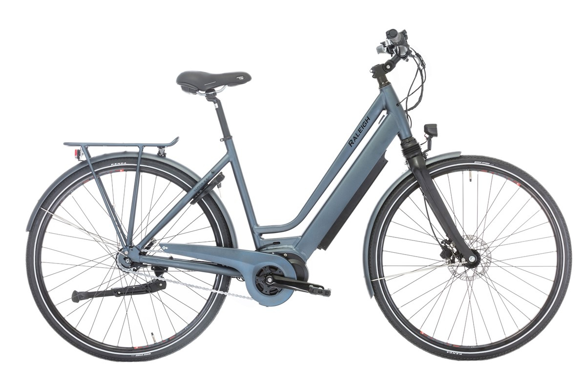 Image of Raleigh Sussex E2 Elcykel Dame Promovec Centermotor Matgrå - 2019