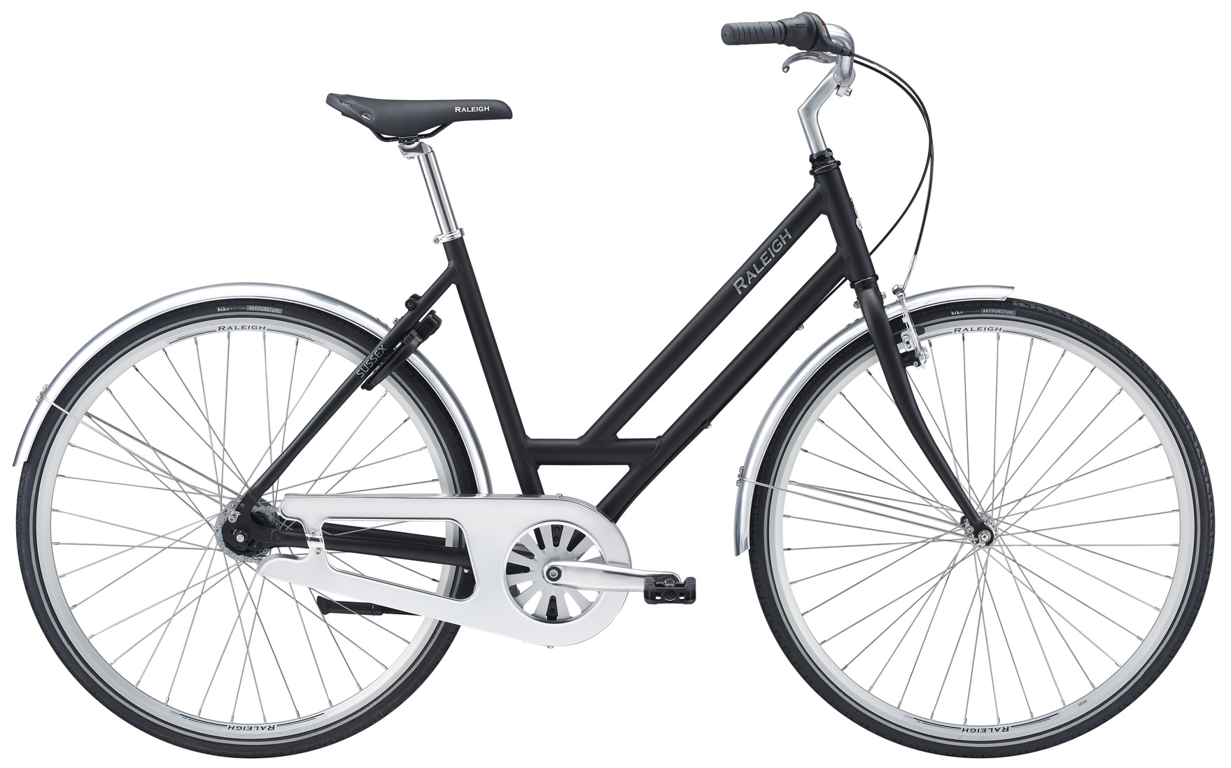 Image of Raleigh Sussex City Dame 7 Gear Matsort - 2020