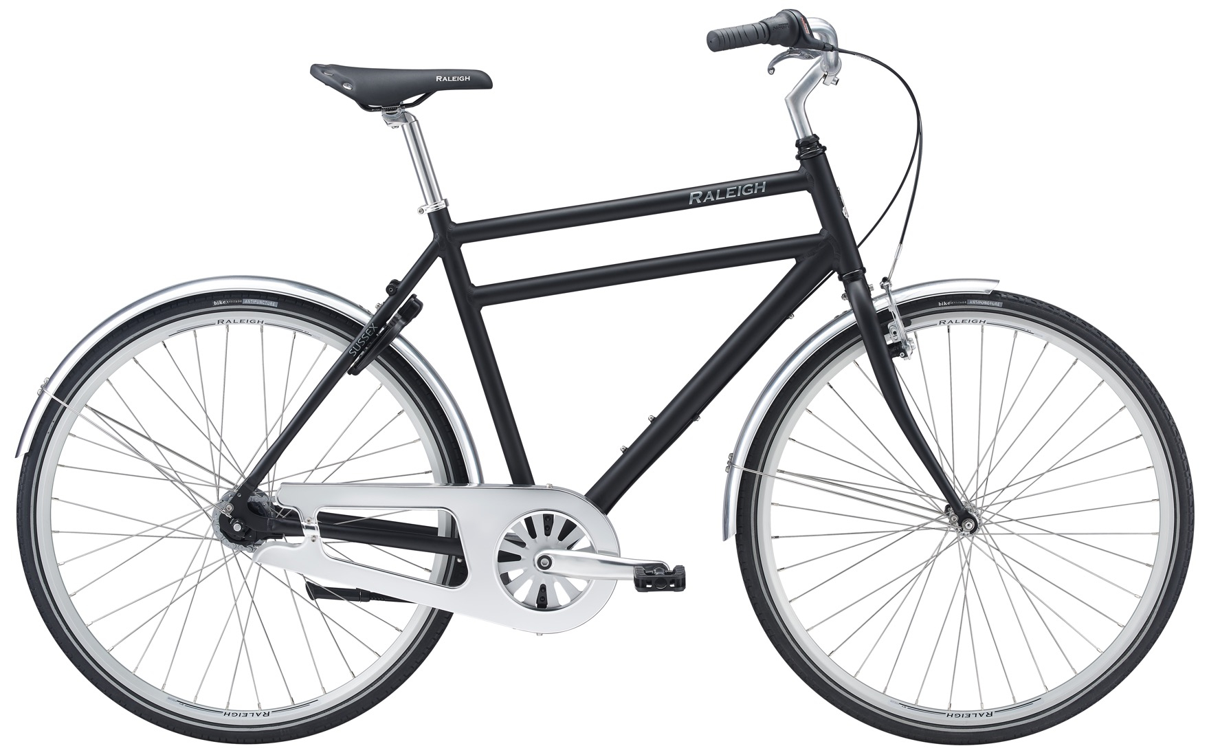 Image of Raleigh Sussex City Herre 7 Gear Matsort - 2020