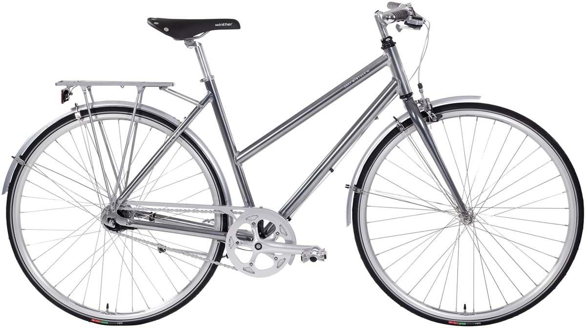 Winther Grey 44 Dame 7 Gear Fodbremse Blank Grå - 2019 Mærker