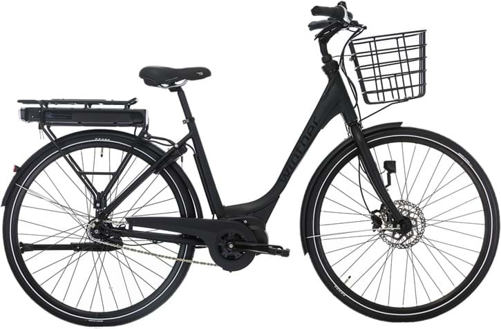 Winther Black Superbe 2 Elcykel Dame Centermotor Matsort - 2020 Cykler||Winther Cykler||Winther Elcykler