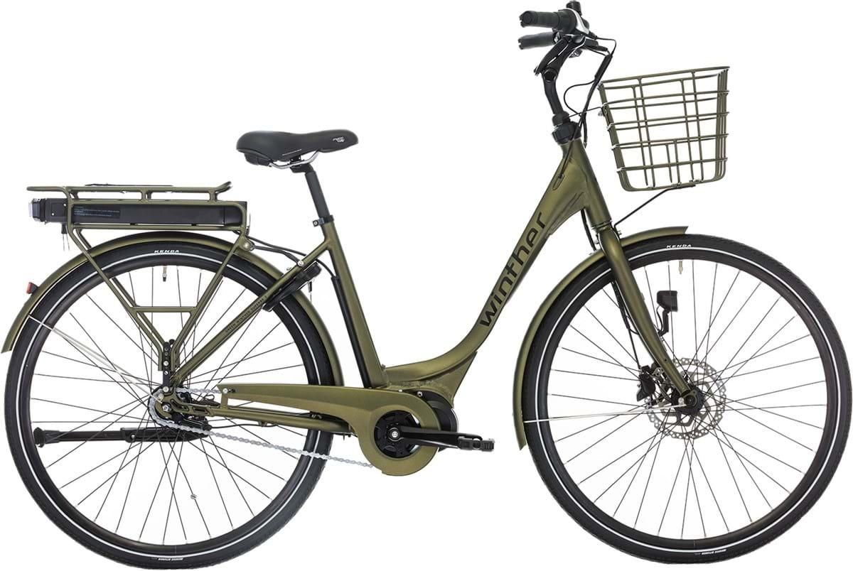 Winther Green Superbe 2 Elcykel Dame Promovec Centermotor Mat Grøn - 2019 Mærker