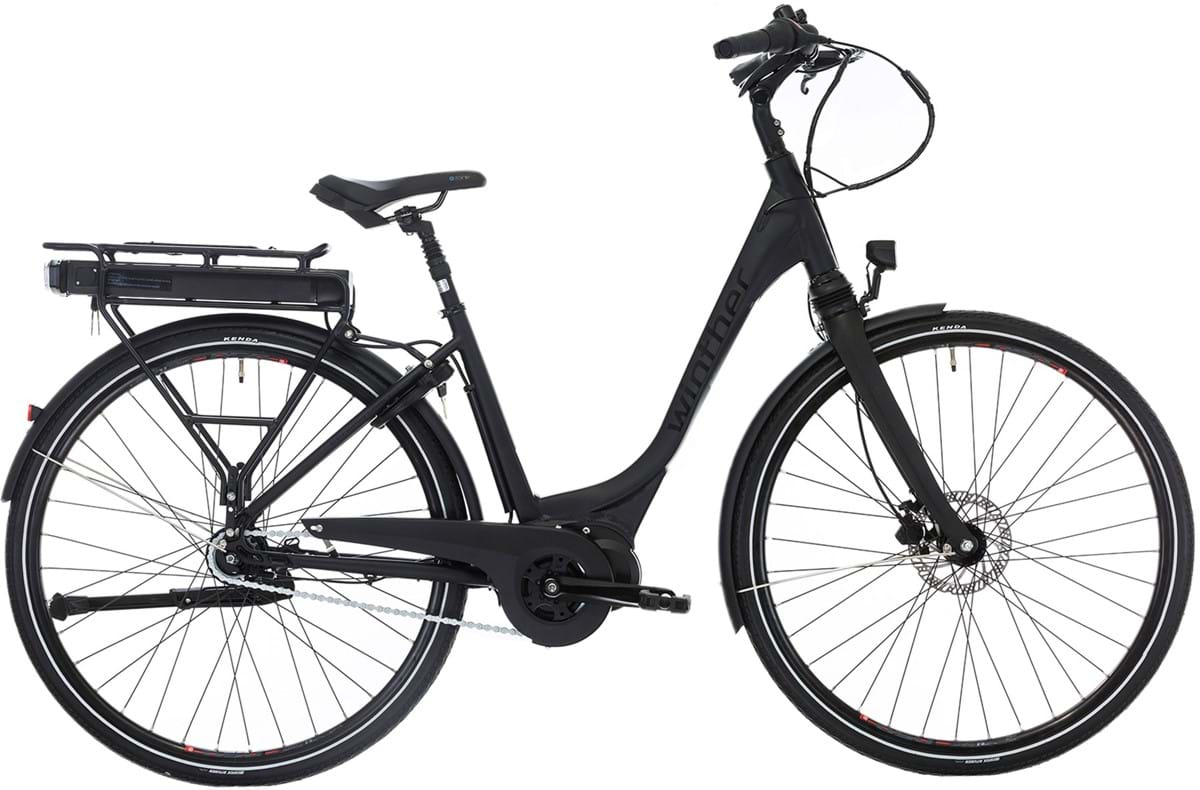 Winther Black Superbe 3 Elcykel Dame Promovec Centermotor Matsort - 2019