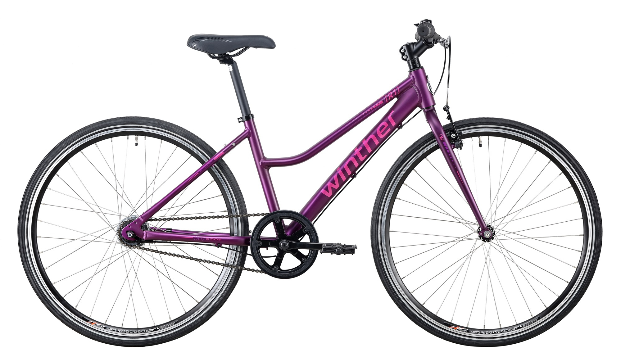 """Image of Winther R1 Sport Pige 7 Gear Lilla 26"""" - 2020"""
