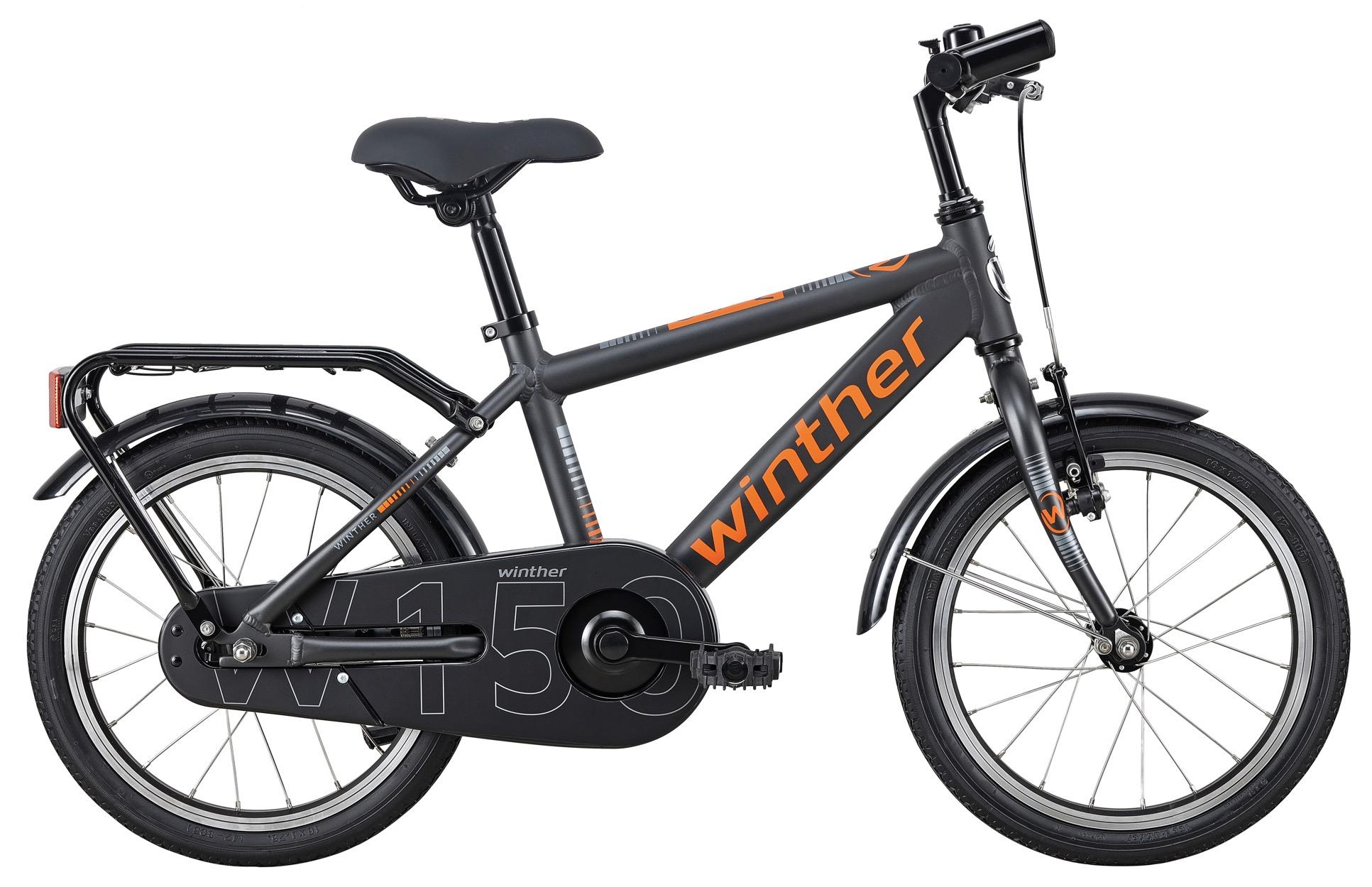 """Image of Winther 150 Alu Dreng 1 Gear Matsort 16"""" - 2020"""