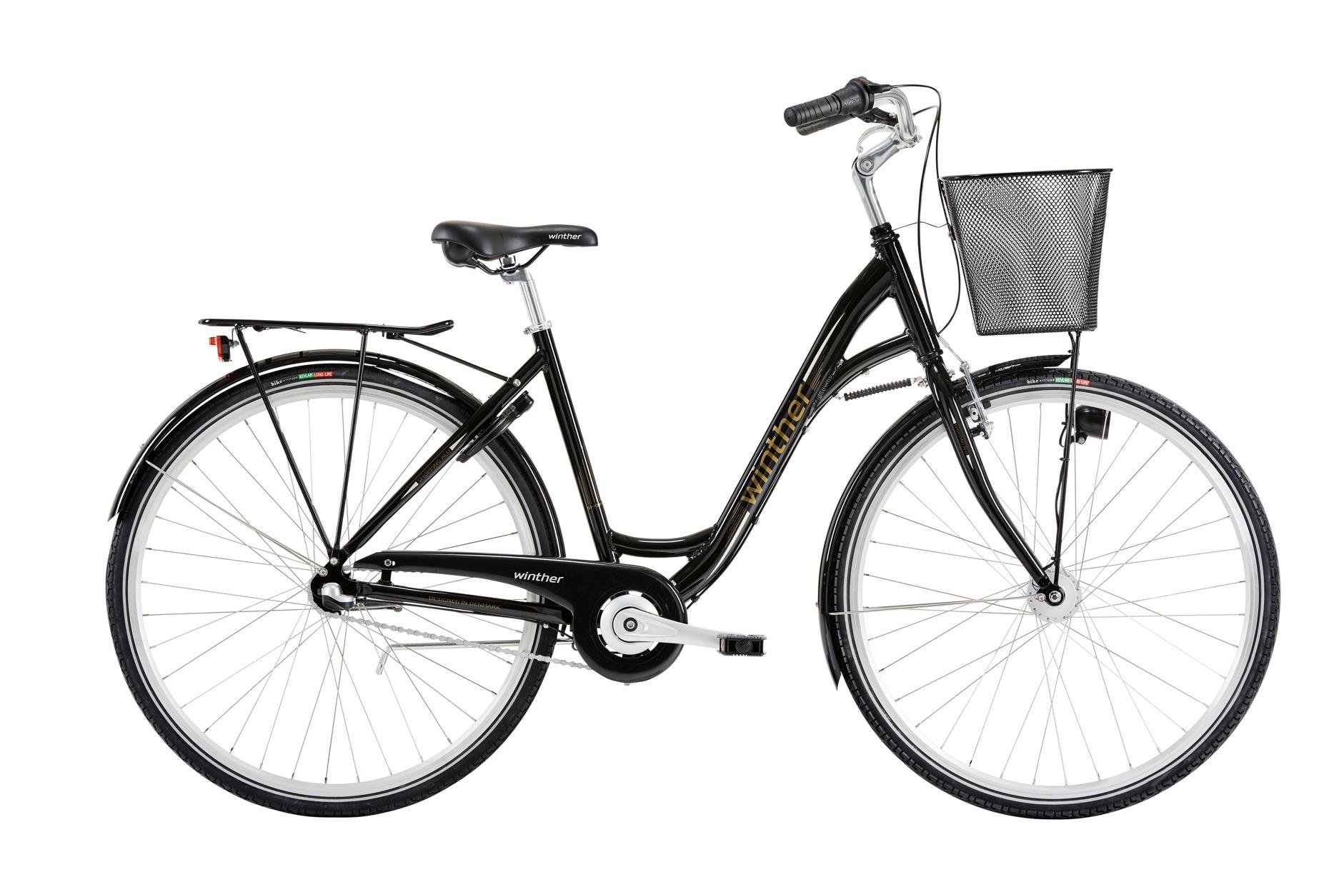 Winther Shopping Alu Dame 3 Gear Sort - 2020