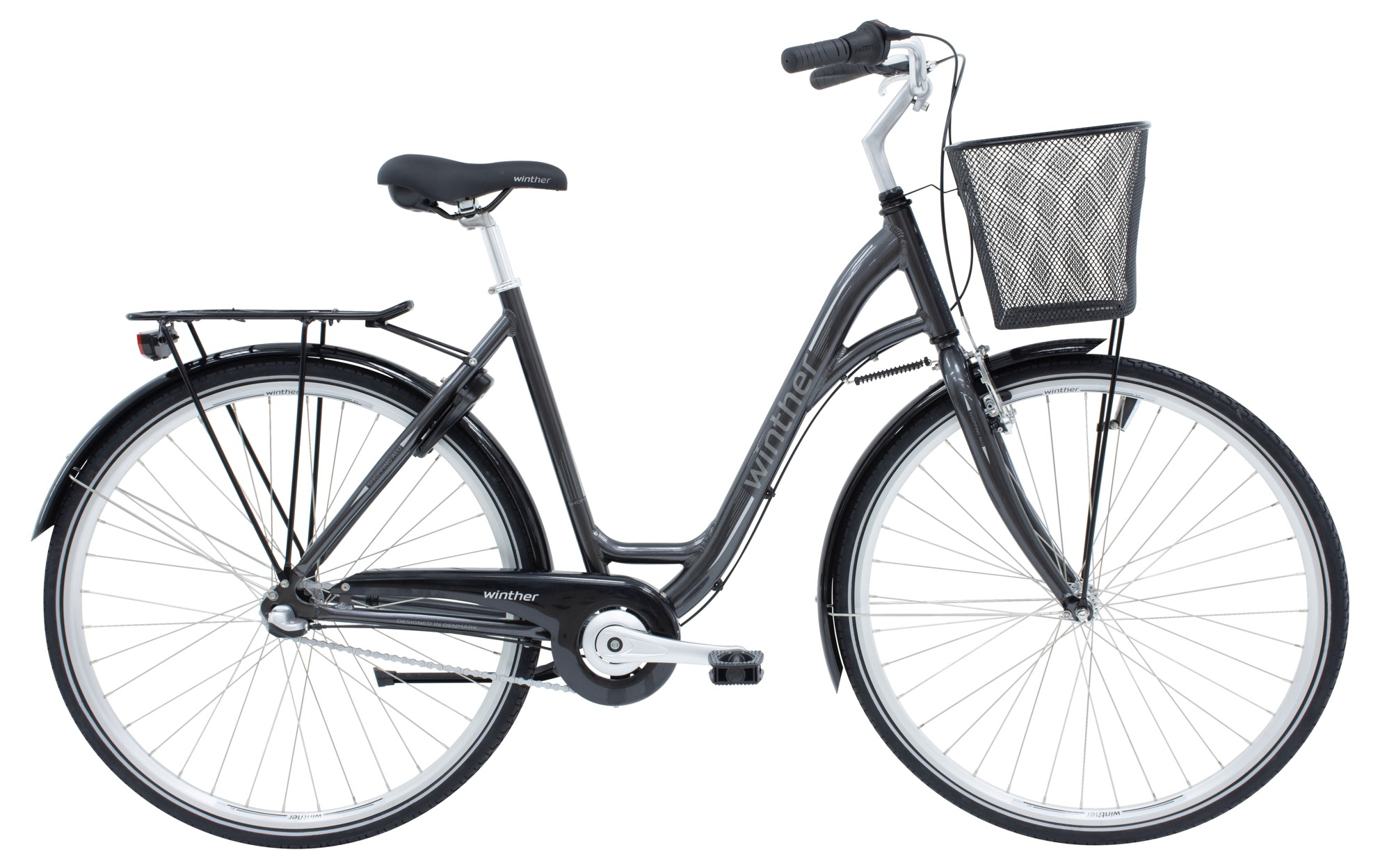 Image of Winther Shopping Alu Dame 3 Gear Mørkegrå - 2020