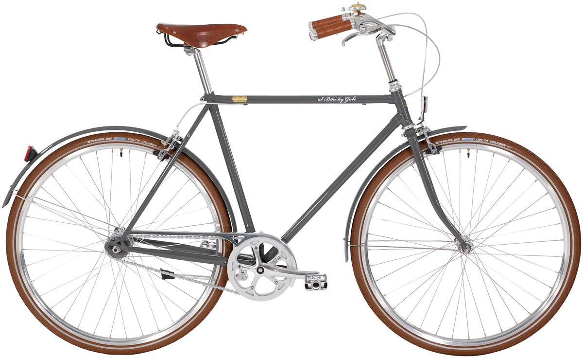 Pedalatleten Bike By Gubi Herre 8 Gear - Gubi Grey 2019 Mærker