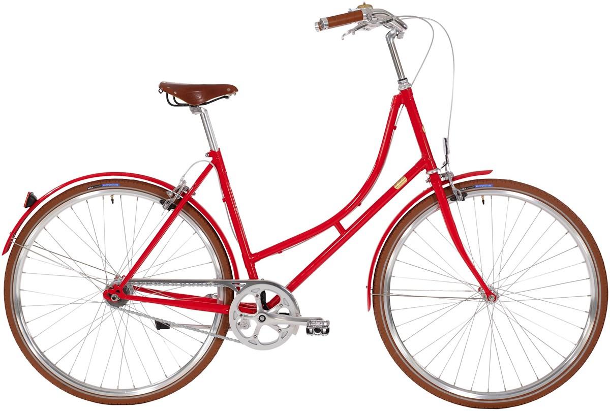 Bike By Gubi Dame 2 Auto Gear 52Cm - Red Nelson 2019
