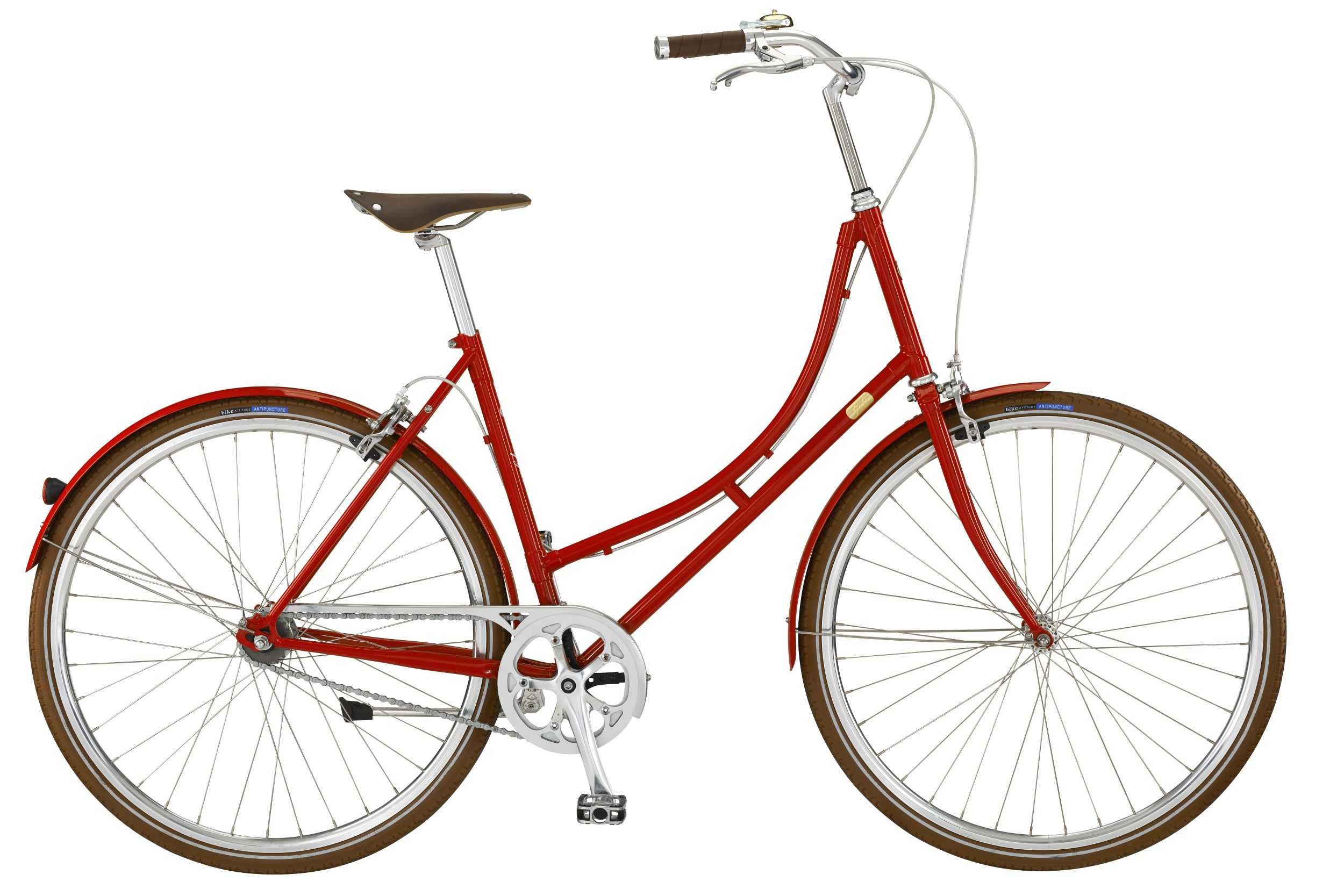 Bike by Gubi Dame 2 Auto Gear 52cm - Red Nelson 2018