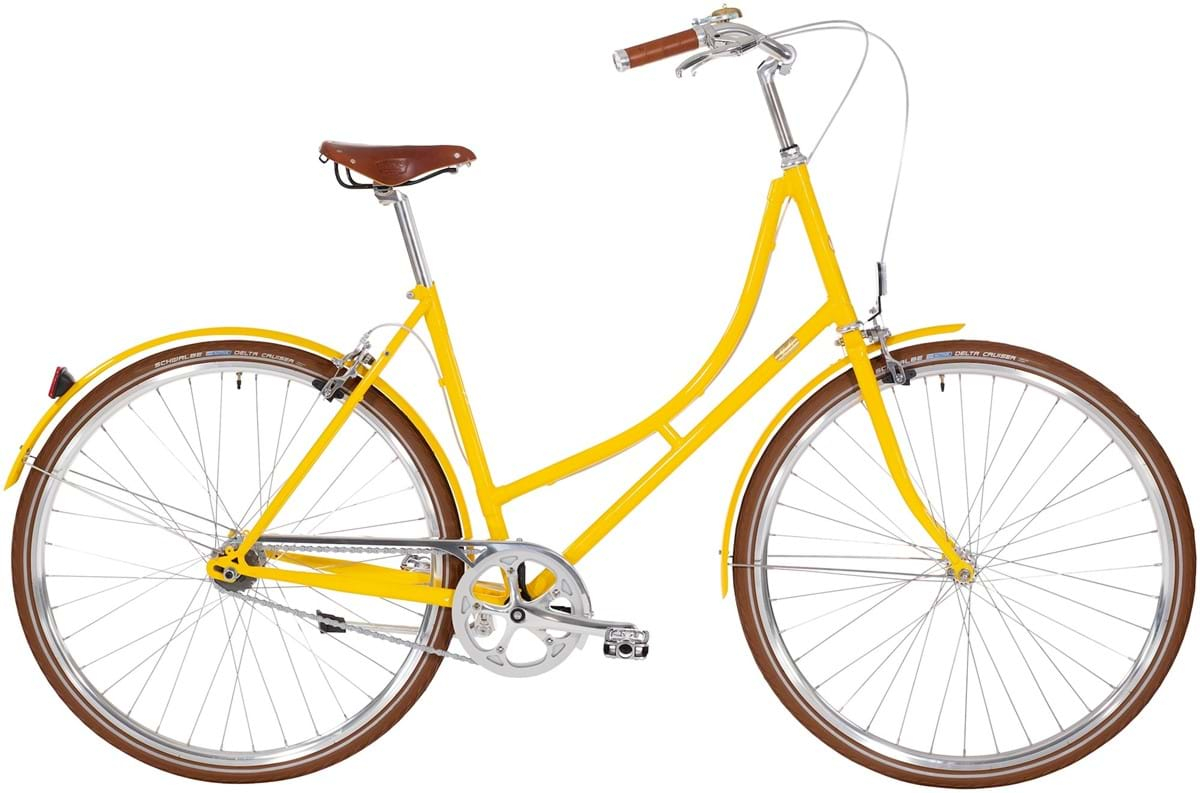 Image of   Bike by Gubi Dame 2 Auto Gear 52cm - Yellow Sunshine 2019