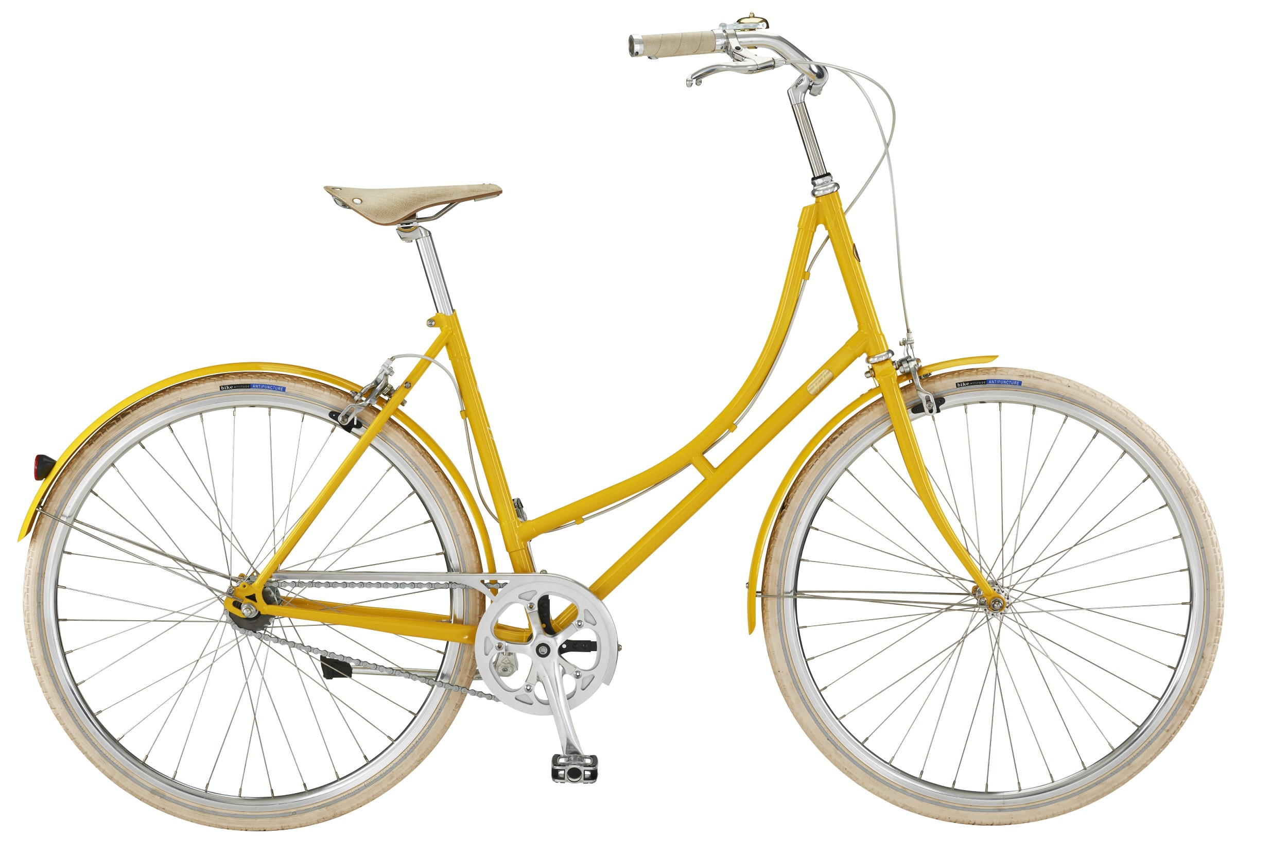 Bike by Gubi Dame 2 Auto Gear 52cm - Yellow Sunshine 2018