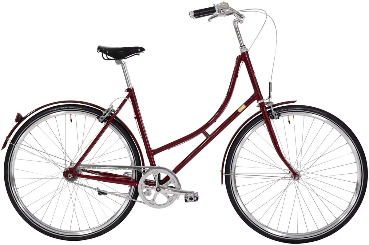Image of Bike by Gubi Dame 2 Auto Gear 52cm - French Bordeaux 2019