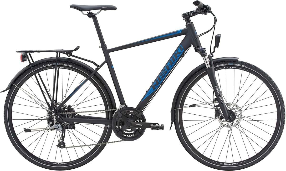 Pedalatleten Nishiki Xc-Six Herre 24 Sp Skivebremse Matsort - 2019 Cykler||Nishiki Cykler