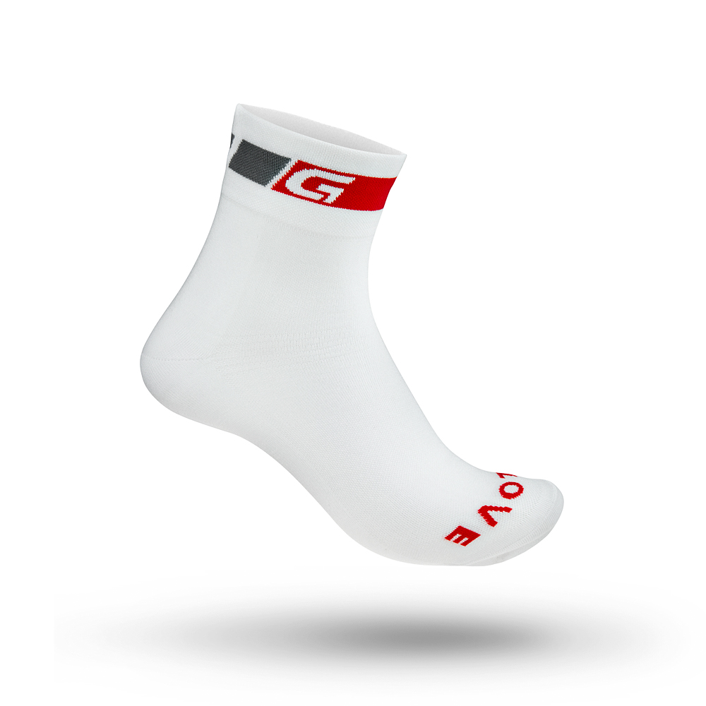 Image of GripGrab Regular Cut Summer Sock - Hvid