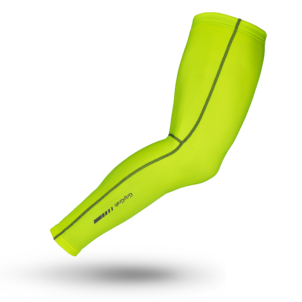 Image of GripGrab Leg Warmers Hi-Vis
