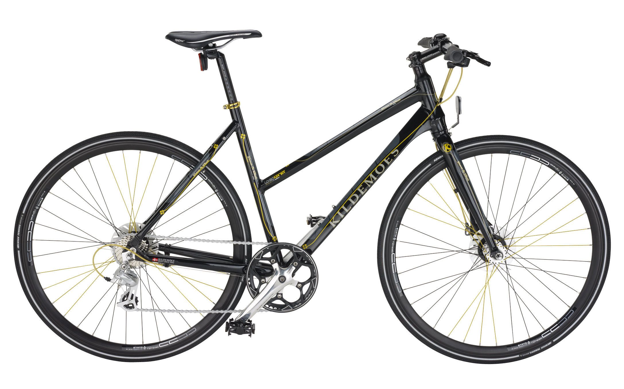 Kildemoes Logic Sport 8 Speed Dame Raven Black 55cm
