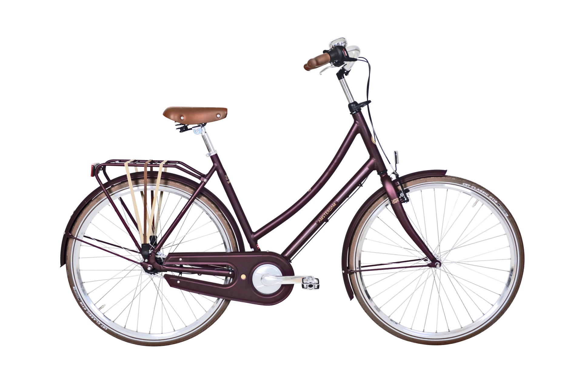 Image of Ebsen Amsterdam Dame 7 Gear Lilla - 2019