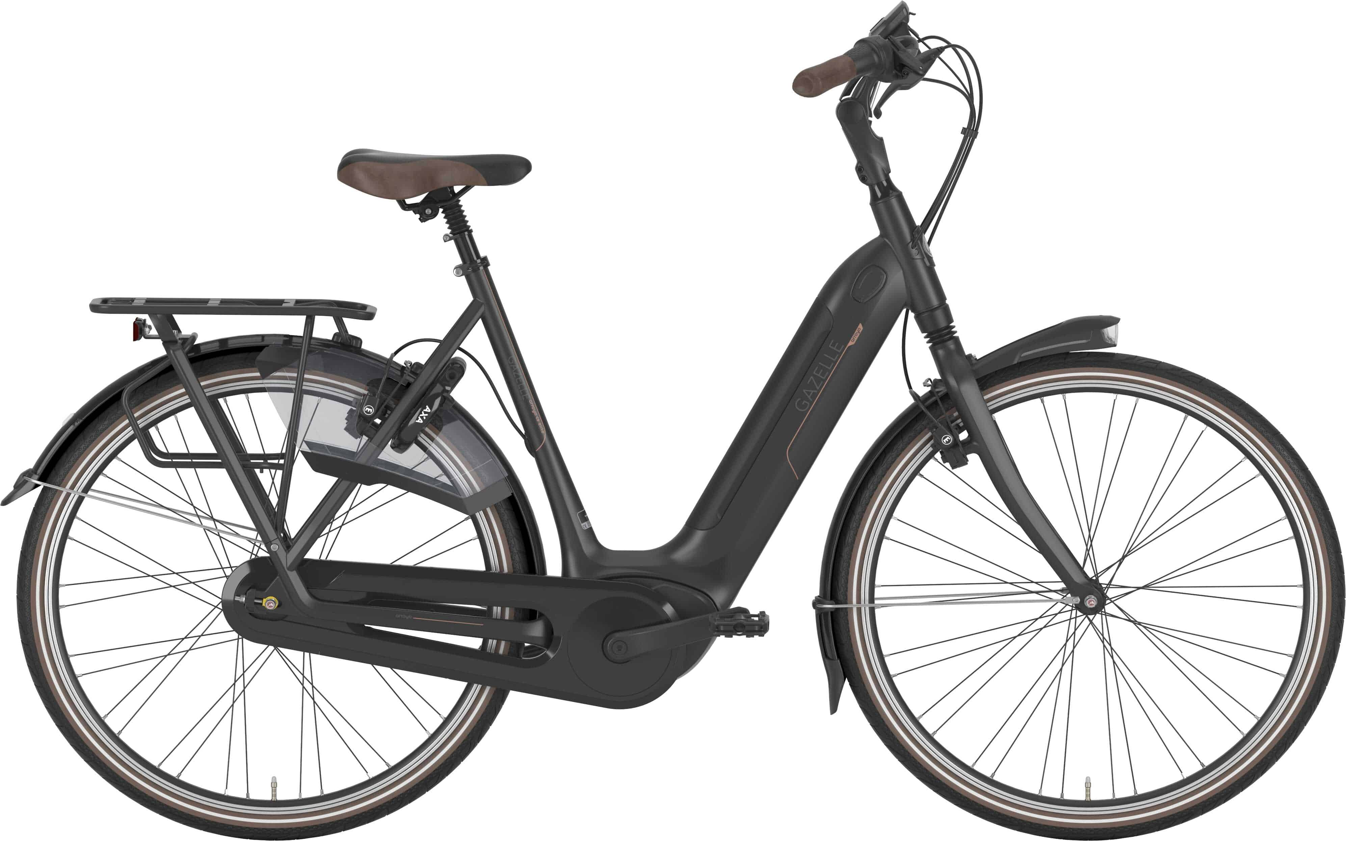 Gazelle Arroyo C8 Hmb Elite Dame Sort - 2020 Cykler  Gazelle  Gazelle Elcykler