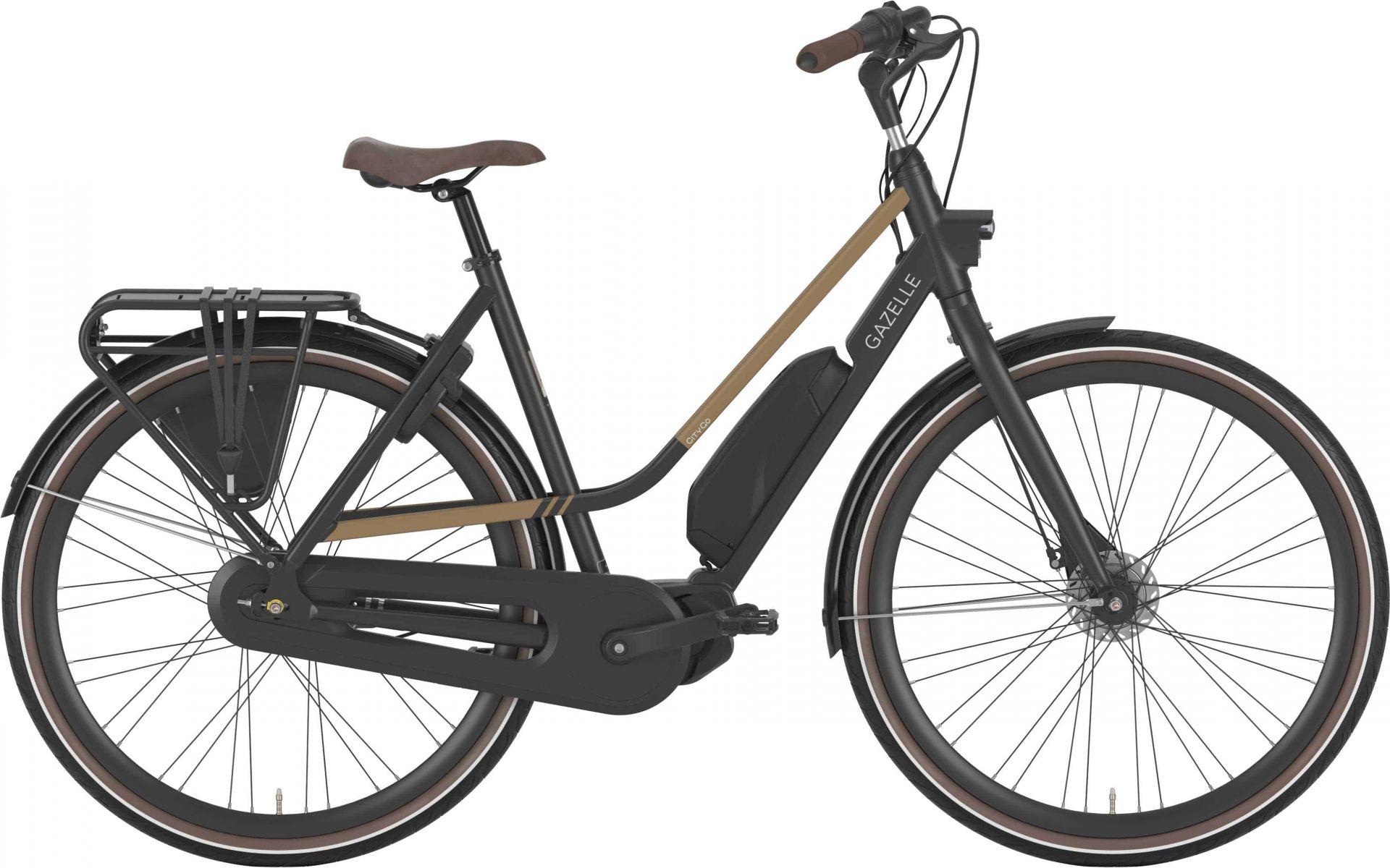 Gazelle Citygo C7 Hms Dame Sort - 2020