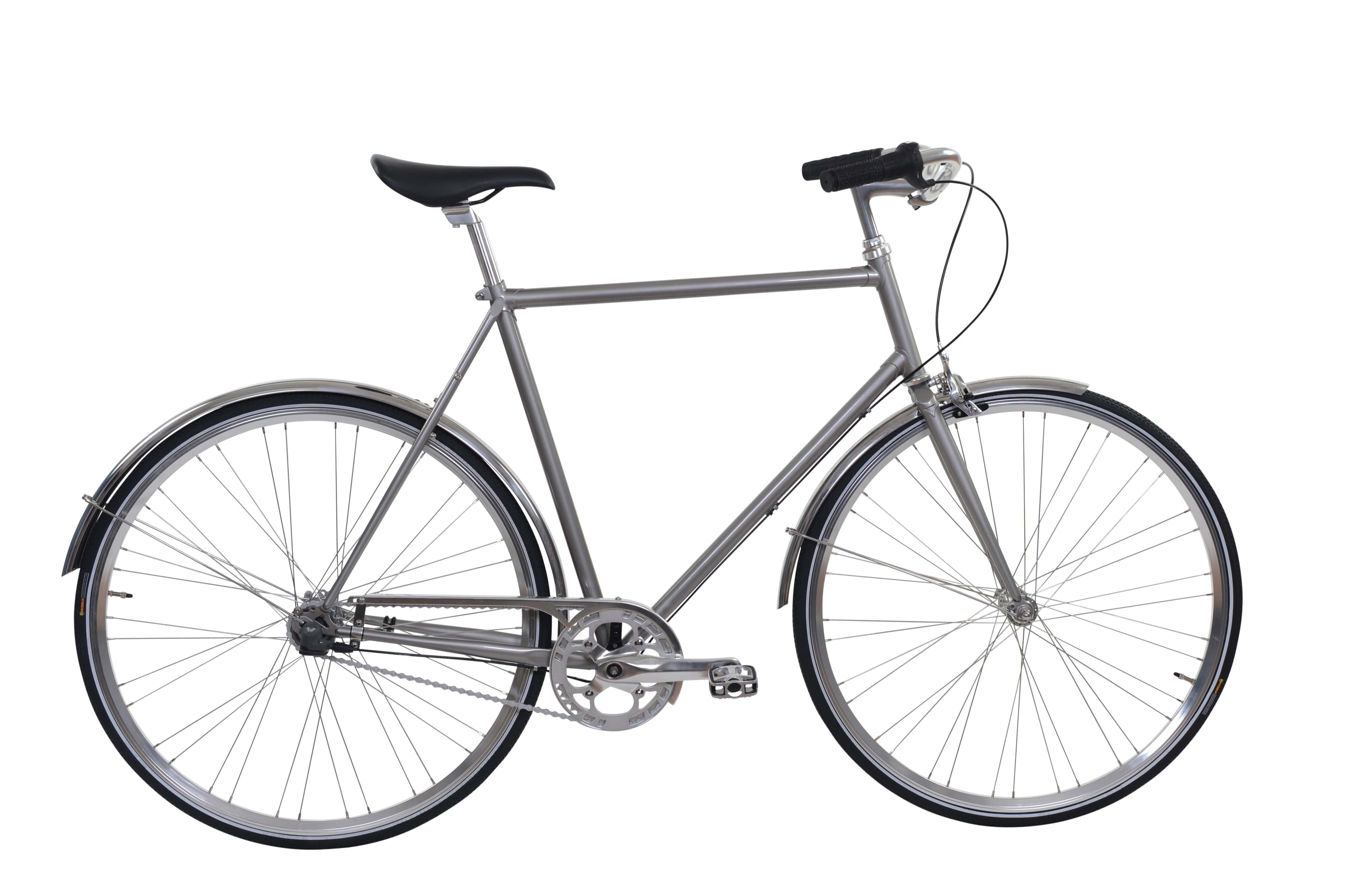 Image of Ebsen Skov Cykel Royal Herre Pearl Dark Grey 2017
