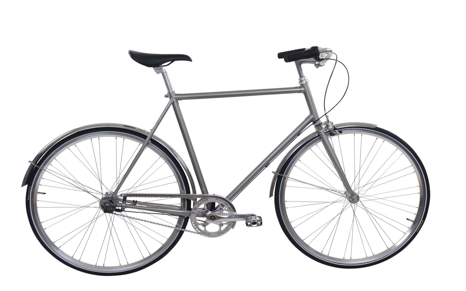 Ebsen Skov Cykel Royal Herre Pearl Dark Grey 2017