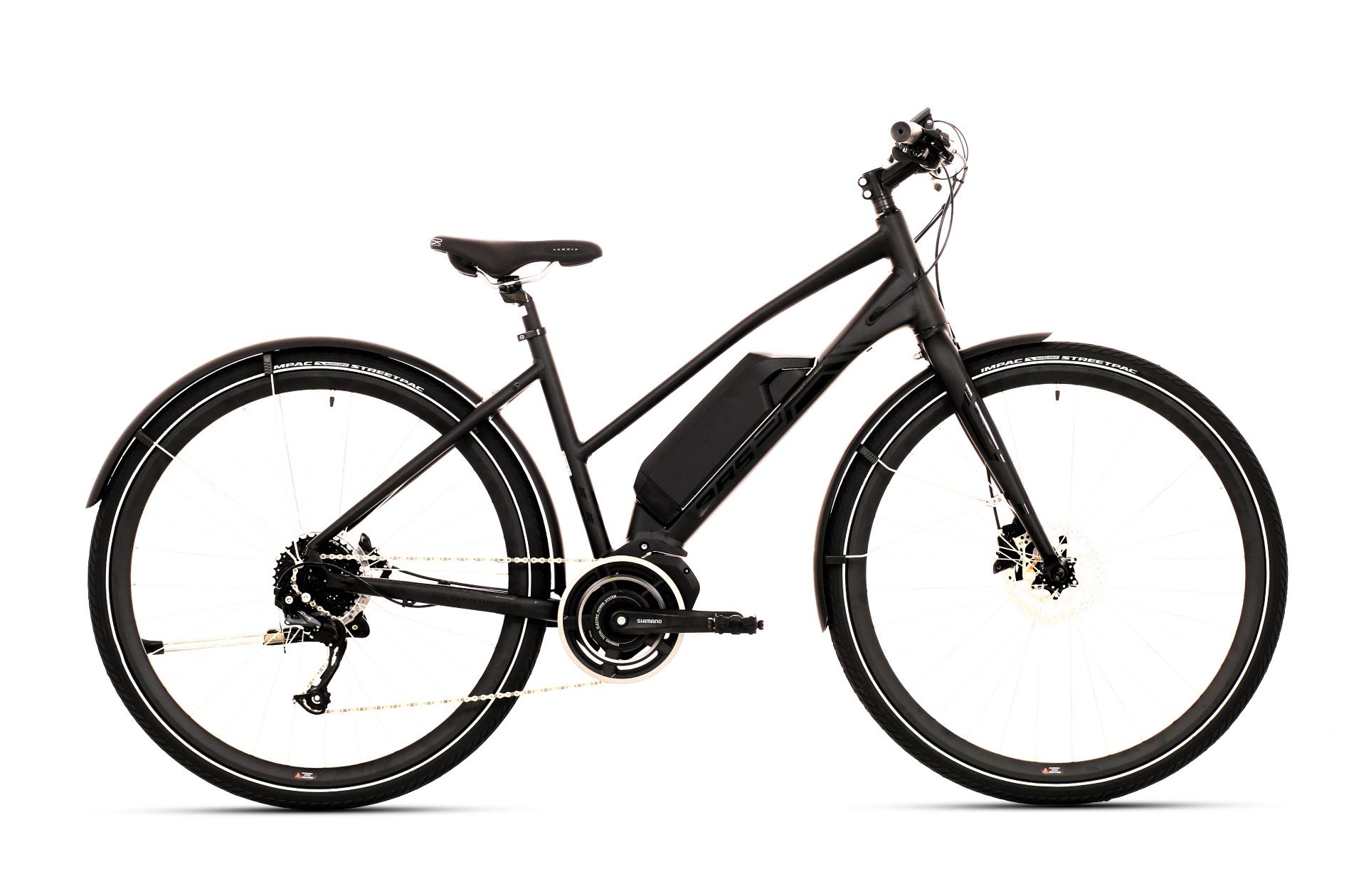 Ebsen Ebs Speed Steps Dame Elcykel 9 Gear Matsort 47Cm - 2019 Mærker