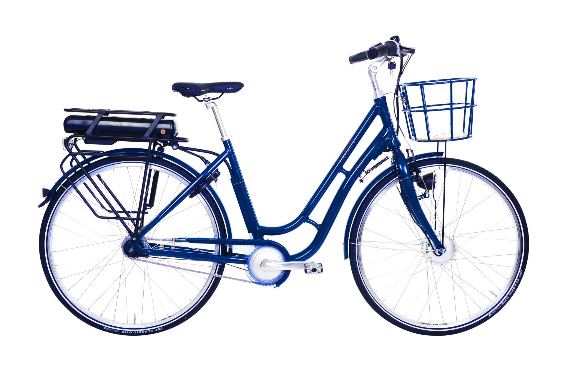 Billede af Ebsen Fanø Retro Dame Elcykel 7 Gear Blå 50 cm - 2019