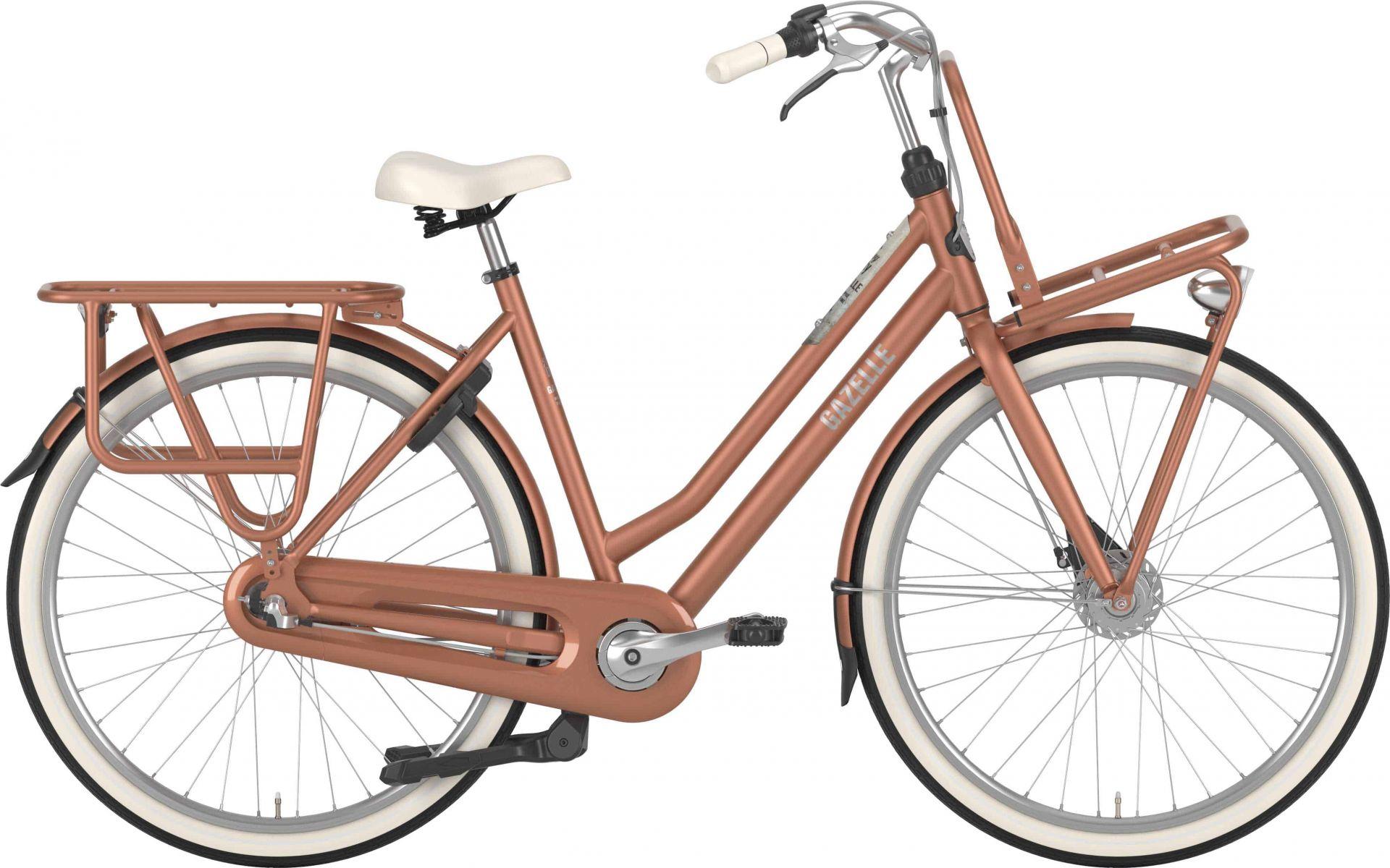 Pedalatleten Gazelle Heavyduty Dame Copper T7 - 2020 Cykler||Gazelle