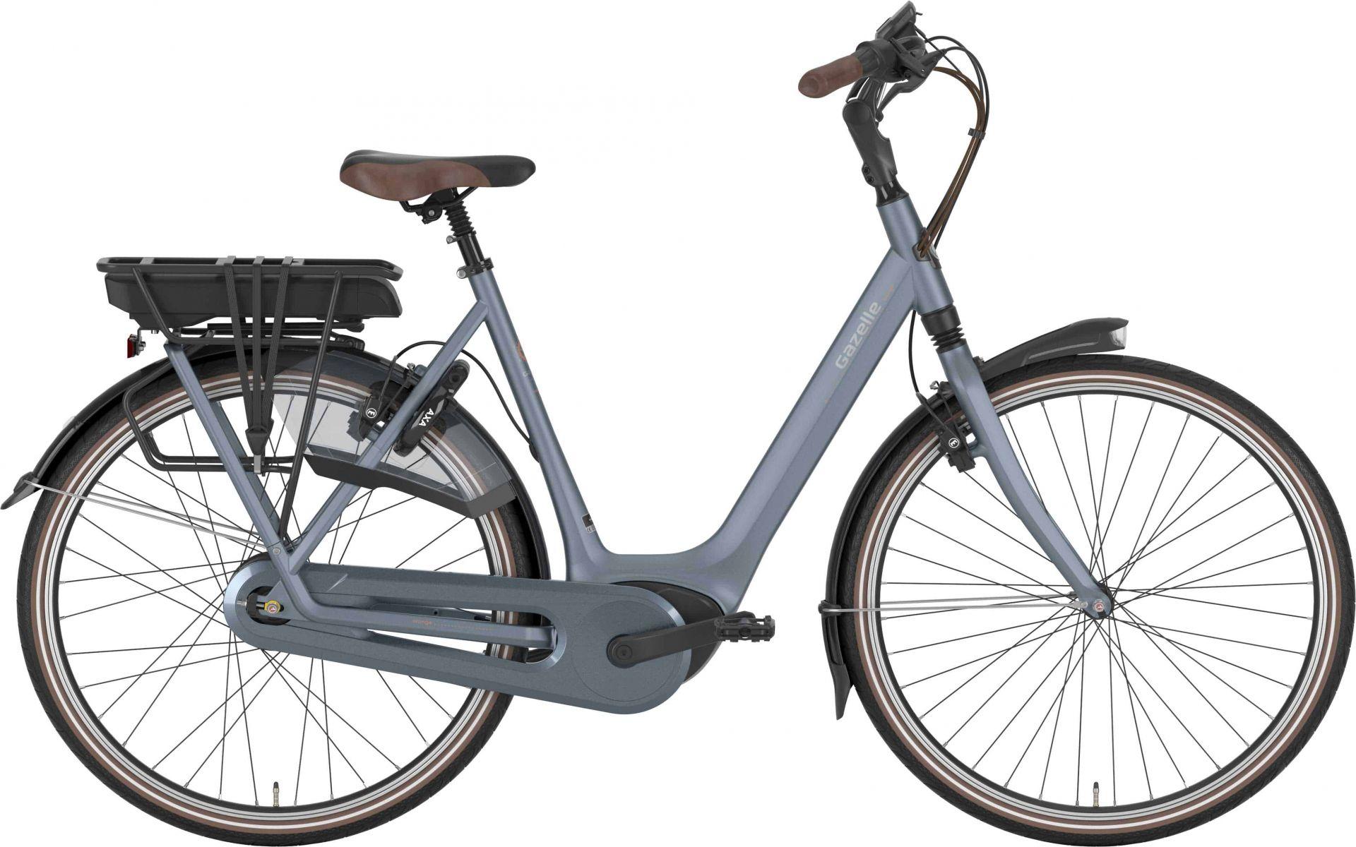 Gazelle Orange C310 Hmb Dame Mirage Blue - 2020 Cykler||Gazelle||Gazelle Elcykler