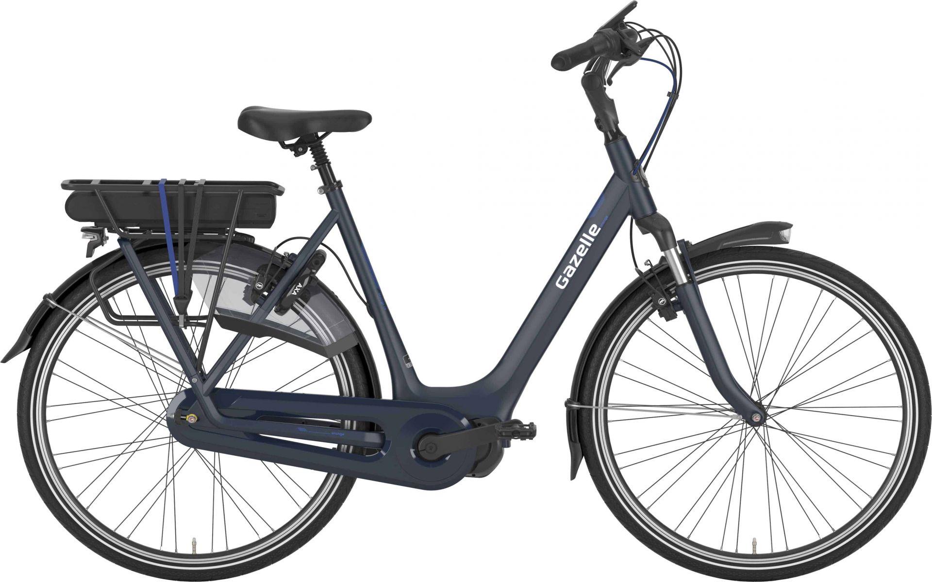 Gazelle Orange C8 Hms Dame Navy - 2020 Cykler||Gazelle||Gazelle Elcykler
