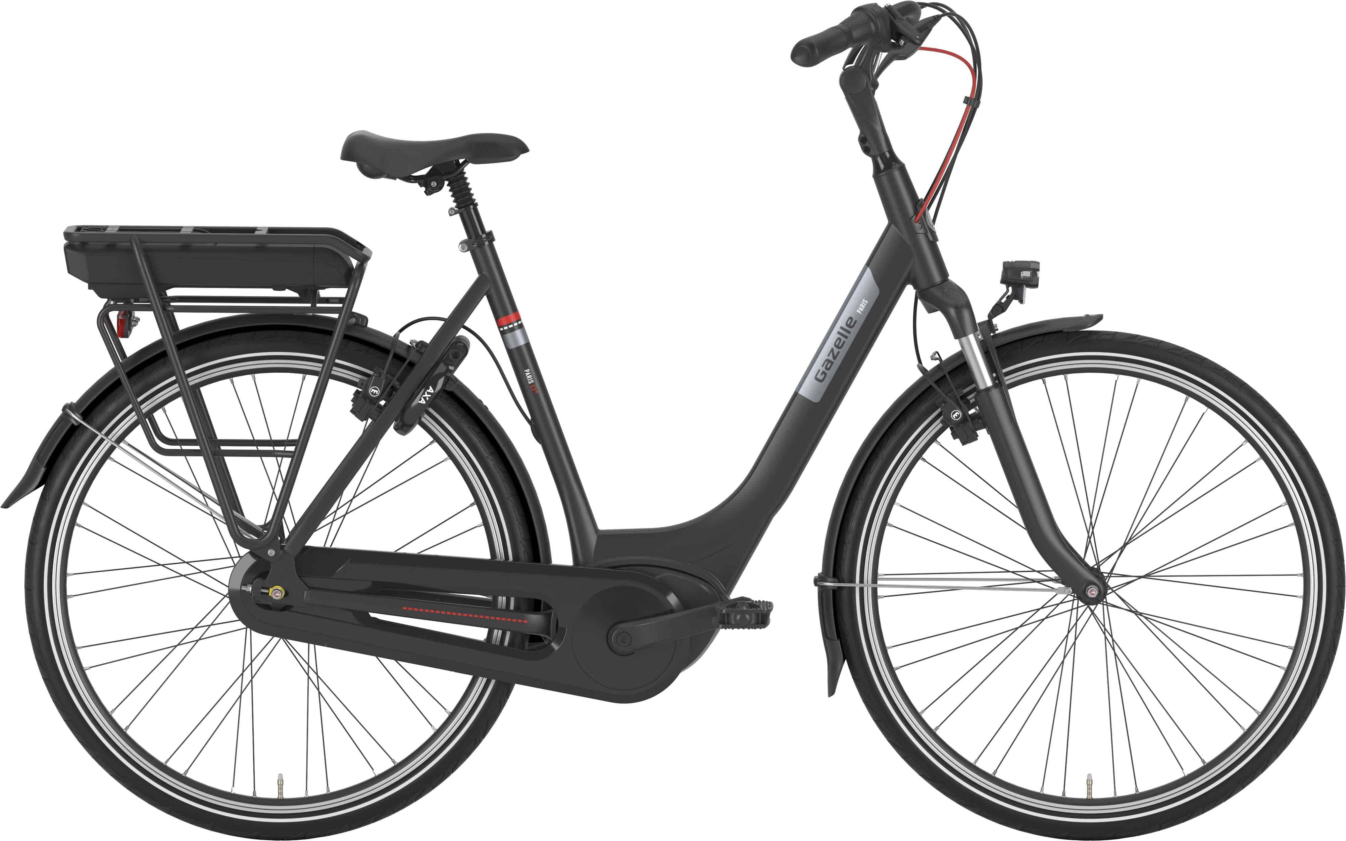 Gazelle Paris C7+ Hmb Dame Sort R7H - 2020 Cykler||Gazelle||Gazelle Elcykler