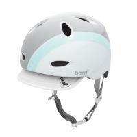 Cykelhjelm Bern Berkeley White/Mint Bomber