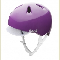 Cykelhjelm Bern Nina Gloss Purple 51-54,5 cm