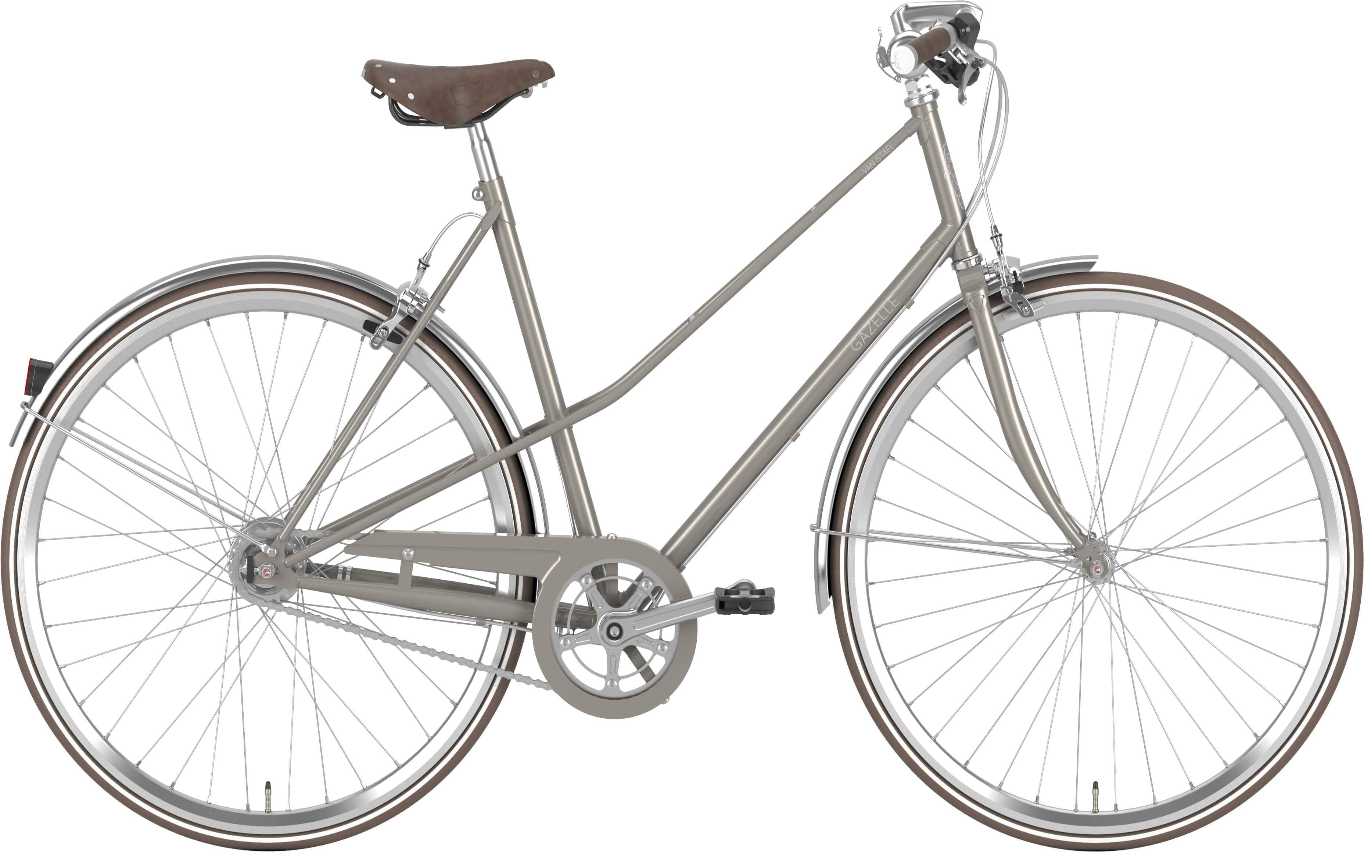 Køb Gazelle Van Stael – Warm Grey