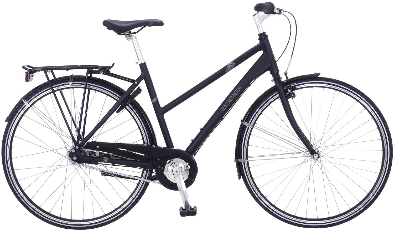 Pedalatleten Kildemoes Street Casual 7 Gear Soft Black - 2020 Cykler  Kildemoes