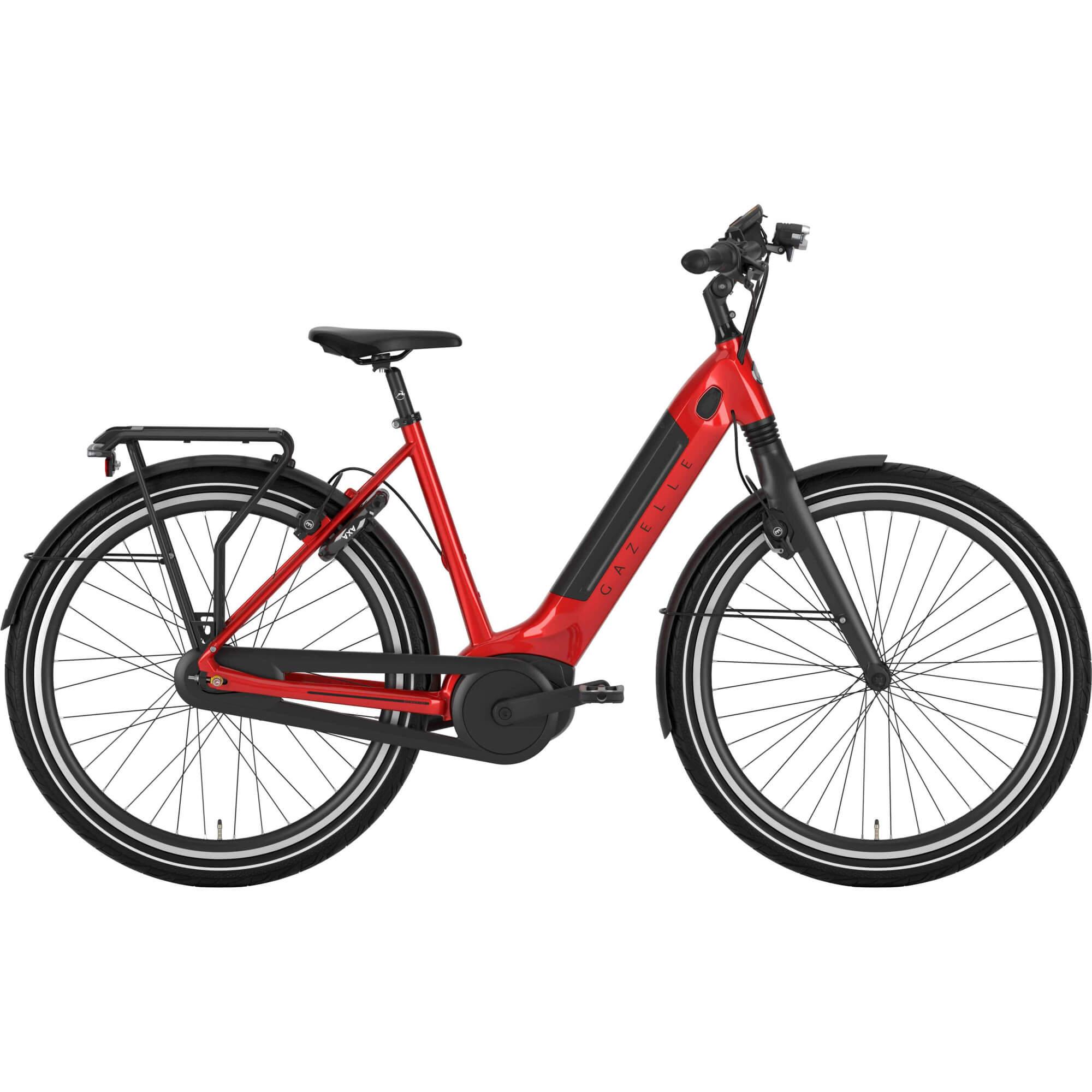 Gazelle Ultimate C8+ HMB dameelcykel i Champion Red